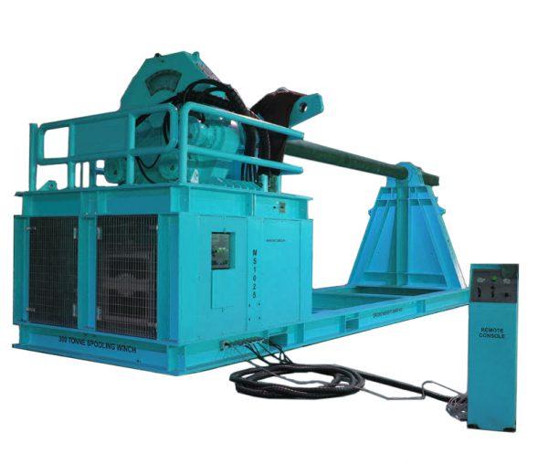 300 ton WLL Spooling Winch