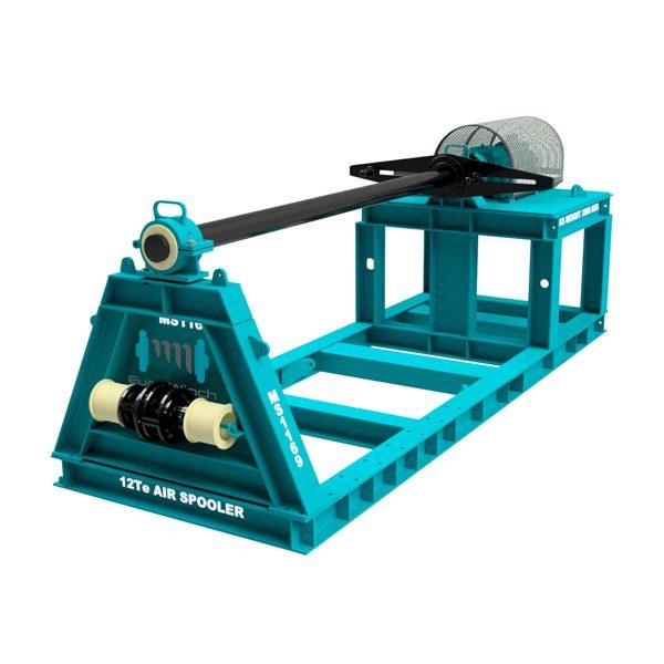 12 ton WLL Pneumatic Spooling Winch