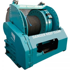 20 ton WLL Narrow Drum Winch